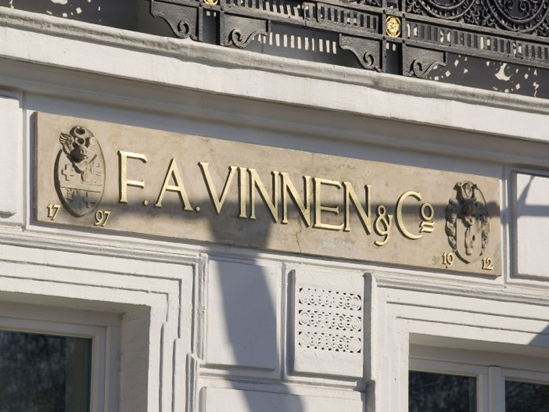 Entrance F. A. Vinnen